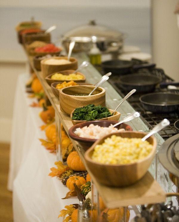 Wedding Reception Food Station Ideas: Casual Gourmet ~ Cultural Cape Cod Wedding