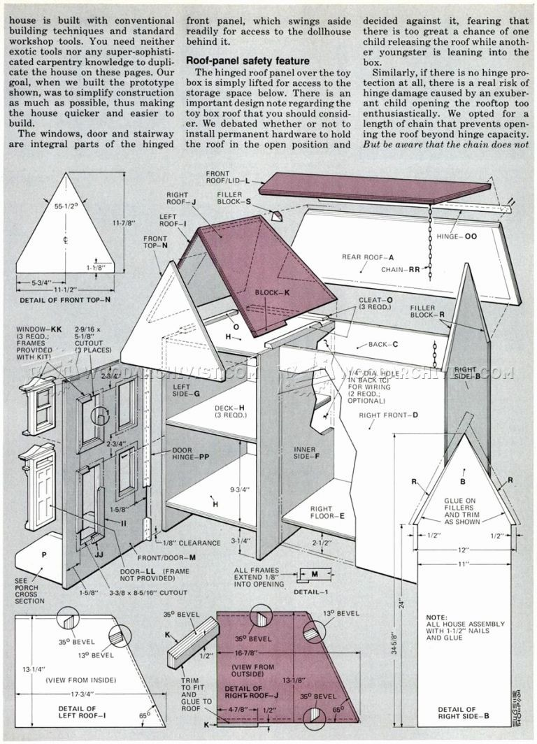 Doll House Plans Woodwork General 27 Creative Dollhouse Plans Awesome Diy Dollhouse Plans Dollhouse Furniture Plans House Furniture Plans Diy Dolls House Plans