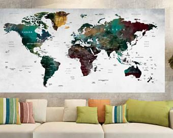 World map poster printworld map large posterworld map art poster world map poster printworld map large posterworld map art posterworld map decalworld map wall decalworld map push pintravel map poster maps gumiabroncs Images