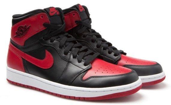 Air Jordan 1 I Retro High OG Black Red