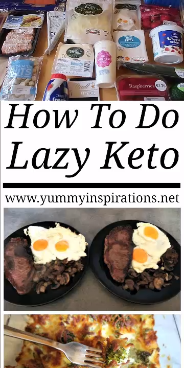 How To Do Lazy Keto – What is Lazy Keto? Cooking Lazy Keto Meals. My definition of Lazy Keto and how I get results without calorie counting on the Ketogenic Diet.