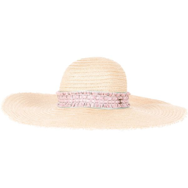 Pre-owned Chanel Sun Hat (49 a0fe1b20a