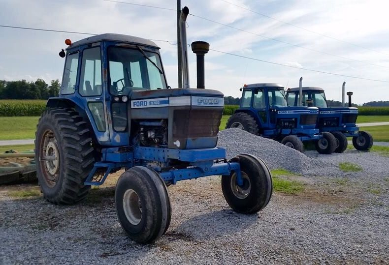 ford 9700 pulling tractor