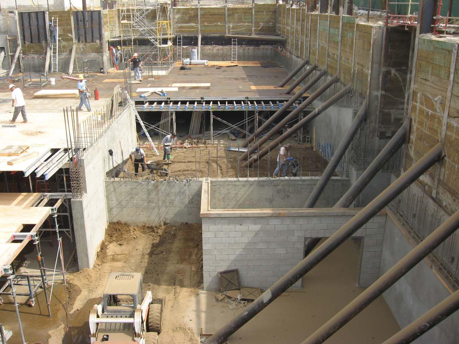 2 Story Basement Excavation Construcci N Pinterest