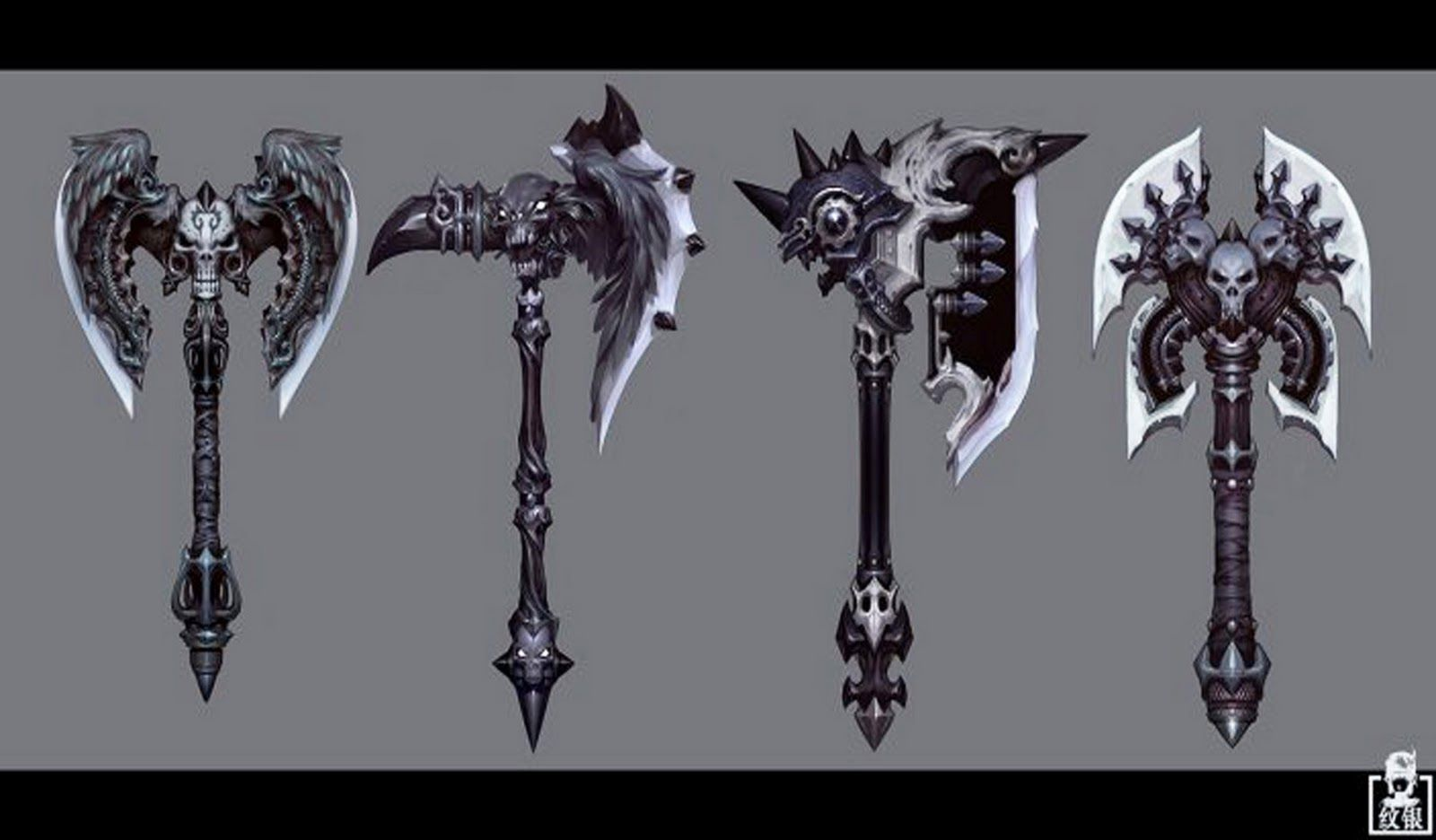 Pin By Serhii Khomenko On Props Concept Fantasy Weapons Weapons