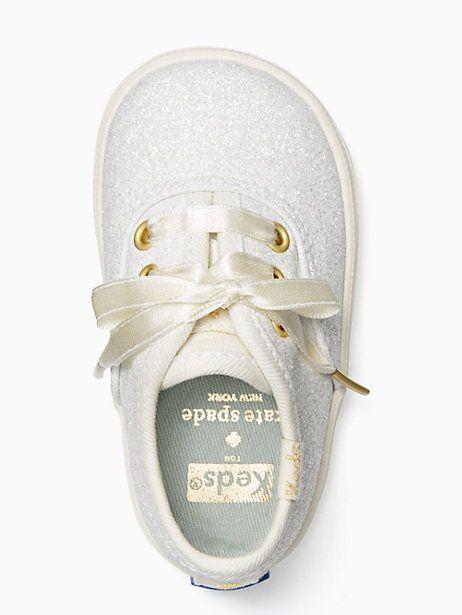 9ef3e10b37ac Keds kids x kate spade new york champion glitter crib sneakers ...