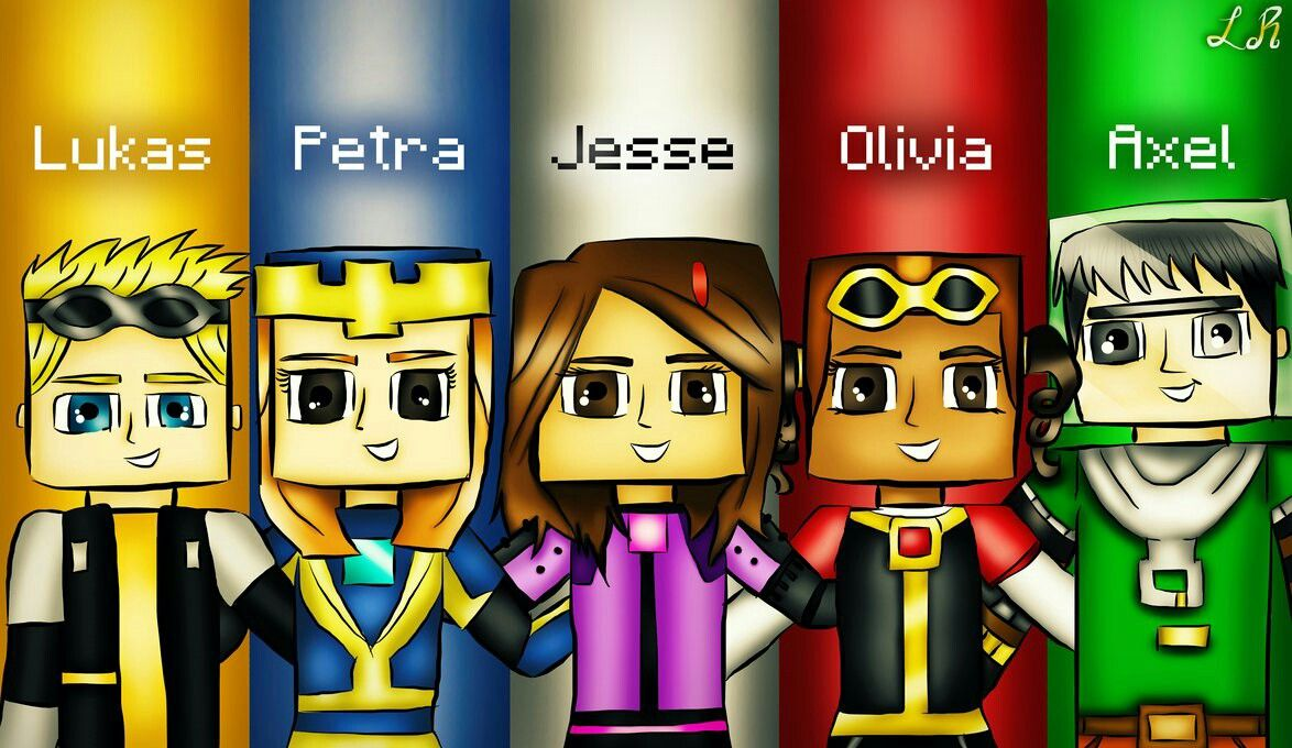 100 Best Minecraft Story Mode Petra Jesse And Lukas Images