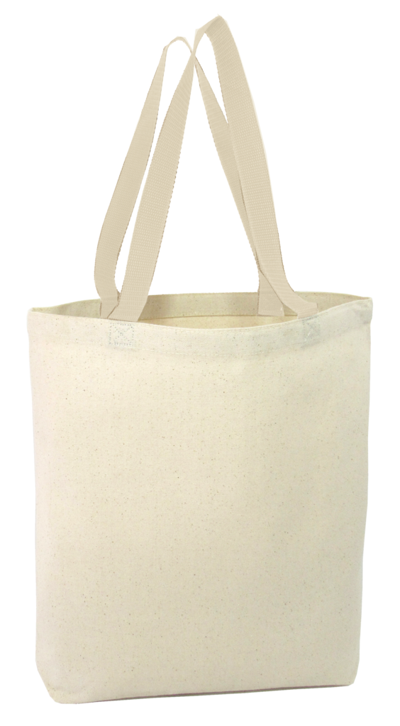 698b86e157ad Heavy canvas tote bag with bottom gusset is made to carry a heavy load and  to last years of usage with its durable reinforced stress points.