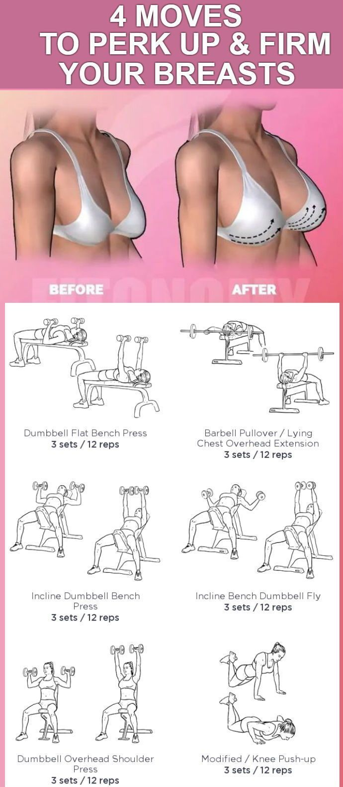 4 Easy Moves To Lift And Firm Your Boobs - GymGuider.com