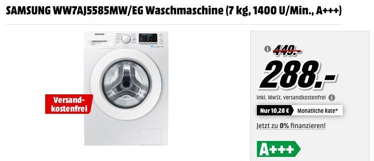 Samsung Ww7aj5585mw/Eg