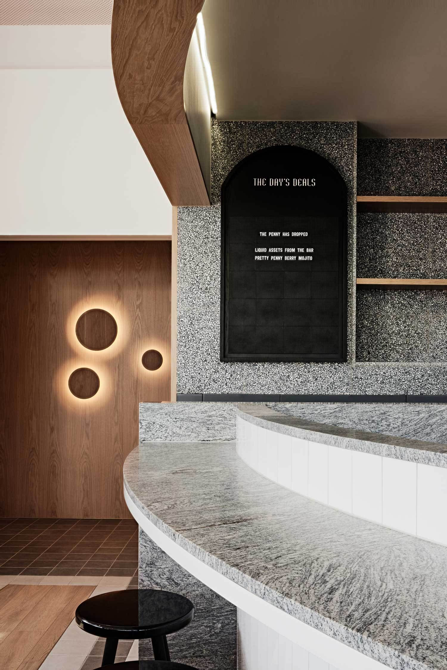Penny Drop Caf In Melbourne By We Are Huntly -