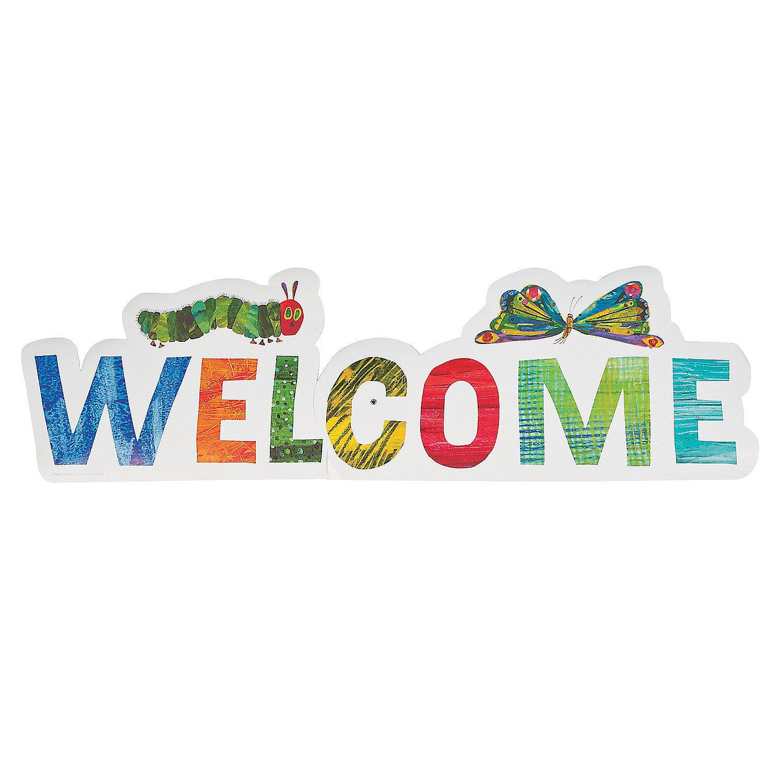Eric Carleu0027s The Very Hungry Caterpillar™ Welcome Sign Part 87