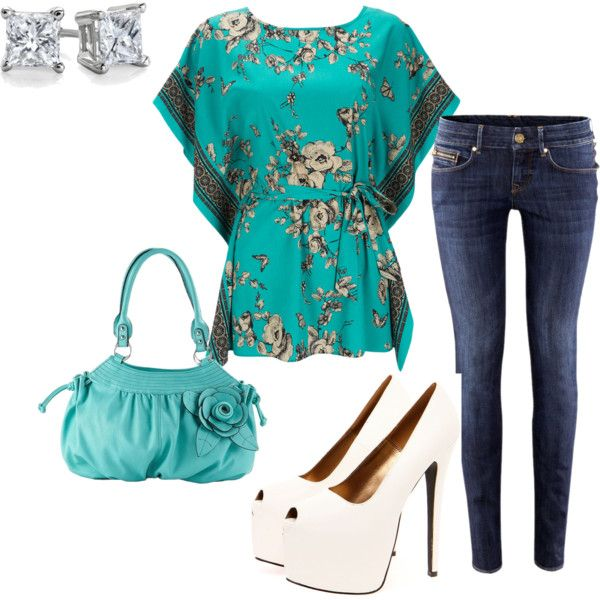 love turquoise blue