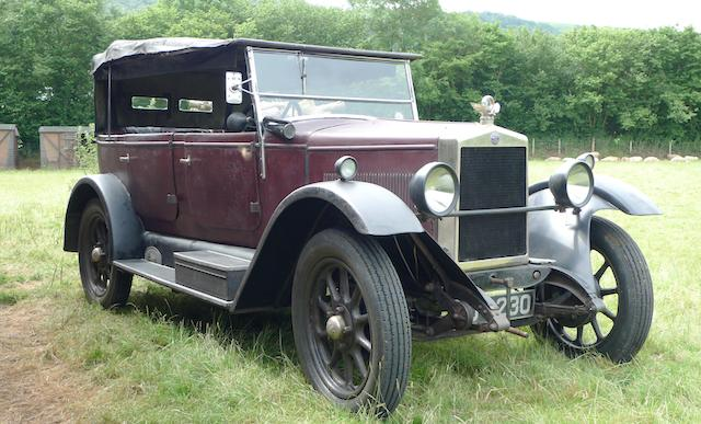Two family owners from new – a time warp motor car,1927 Morris Empire Oxford 15.9hp Five Seat Tourer Chassis no. EO 106