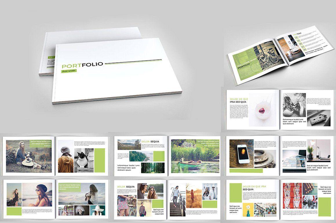 InDesign Portfolio brochure- V127 by Template Shop on ...