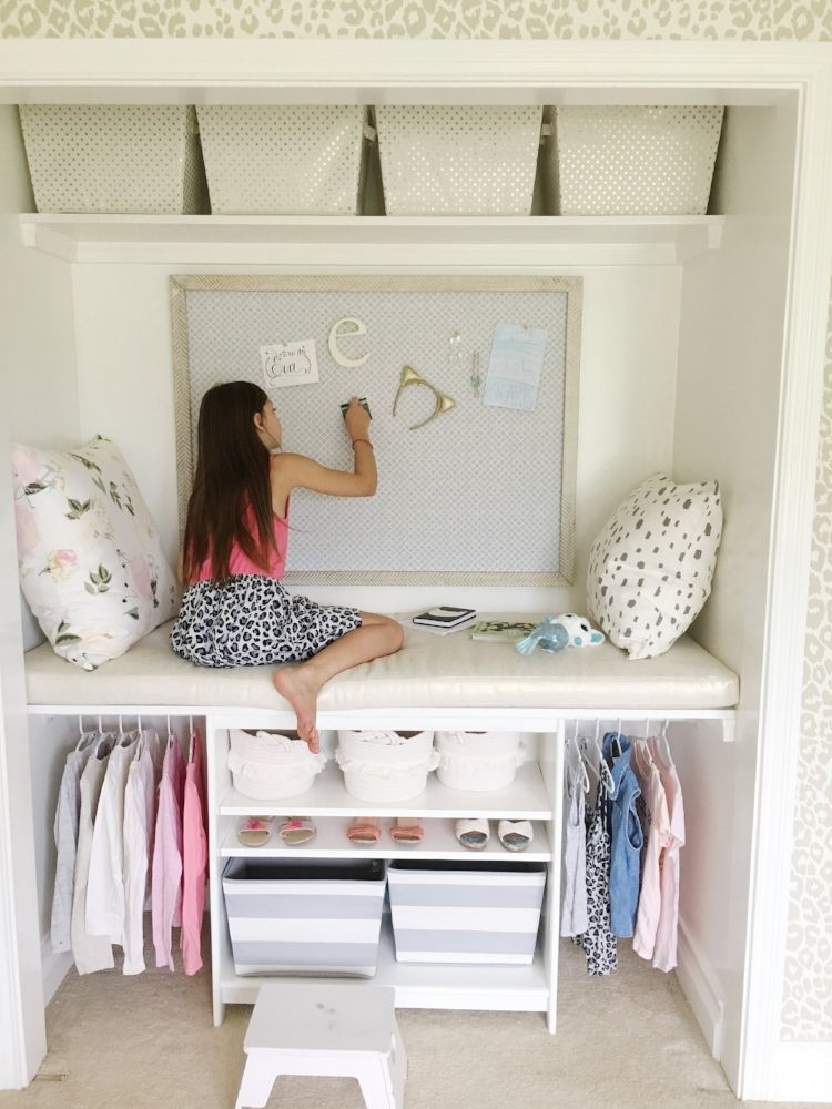 One Room Challenge Week 4: Tween Girls Bedroom images
