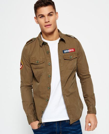 d2fe70385a Superdry Camisa Ultra Light Army Corps