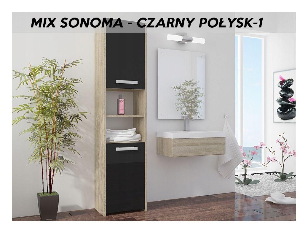 BIBURY S1 | Colonne salle de bain contemporaine 40x30x170 ...