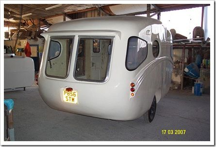 1957 Willerby Vogue My Vacation Home Mini Camper Vintage