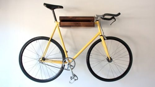 5 Handmade Bike Shelves & Racks for Small Spaces