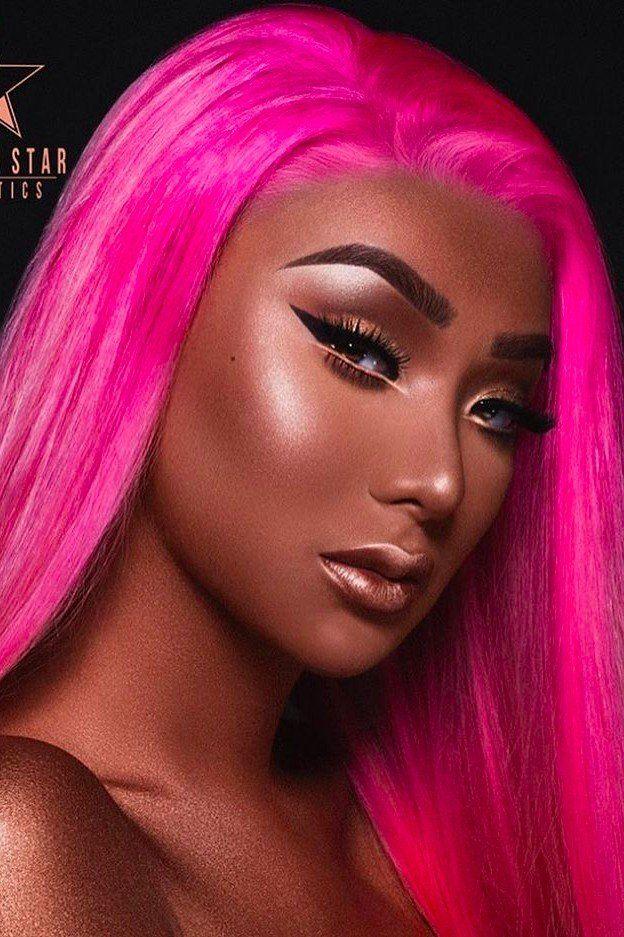 PrincessK 🌼 Makeup looks, Hair beauty, Black beauties