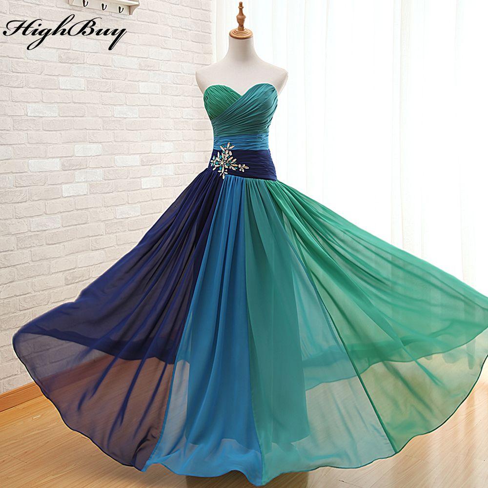 Click to buy ucuc highbuy new pleat bridal dress evening dresses