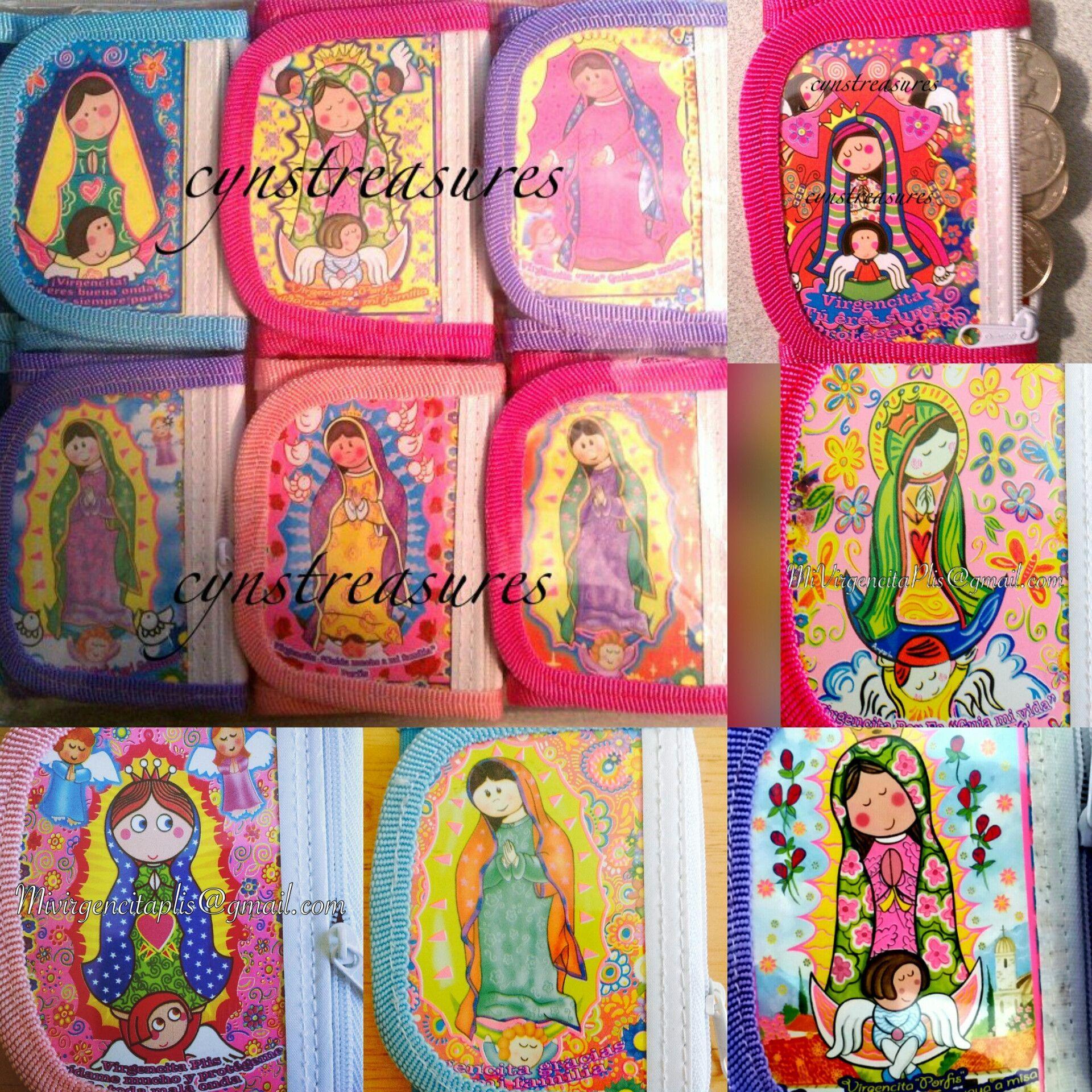 Carteritas Lot Of 12 Virgencita Plis Buy At Wholesale Price