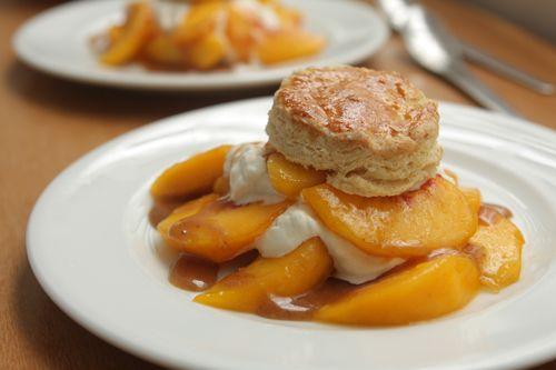 Peach Shortcake | David Lebovitz