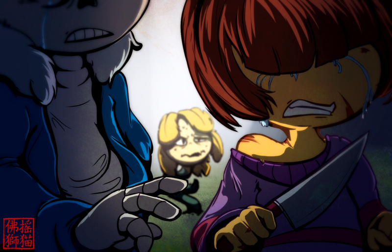 the genocidal megalomaniac Warning major undertale spoilers ahead make sure you have done all 3 routes from undertale before playing this game welcome to undertale: survive chara in this game, you run from a.