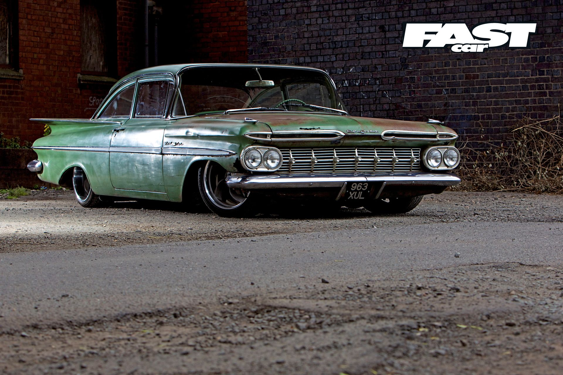 59 chevy bel air
