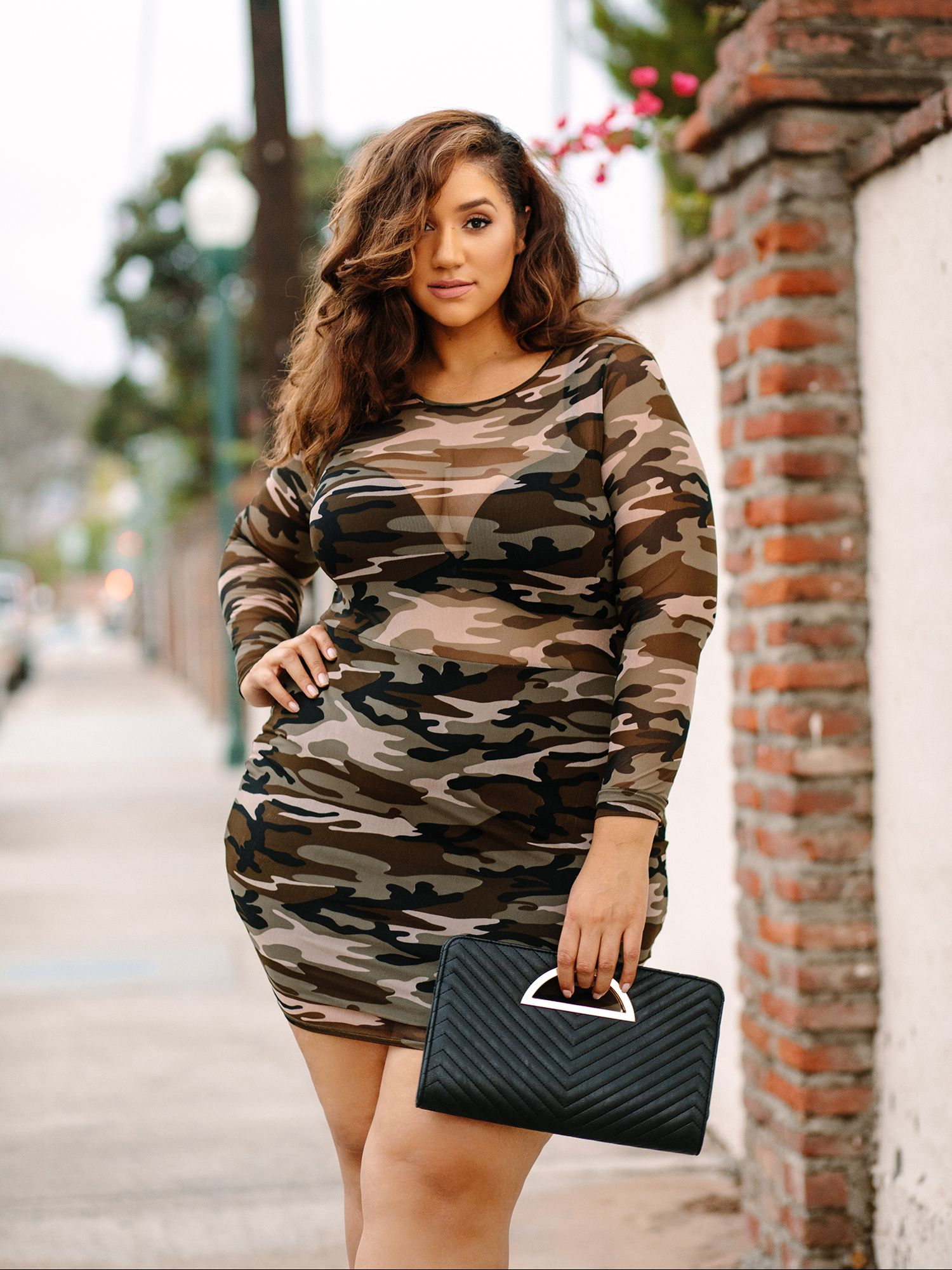 ba8d96eb5aa30d SATURDAY NIGHT SIZZLE 🔥  Dresstination (Camo Mesh Bodycon Dress) Details   A sexy mesh bodycon dress with a fierce camouflage print. Pair with a  bralette