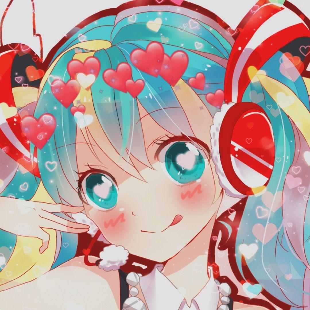 lovecore miku icons!! happy birthday to the... Hatsune