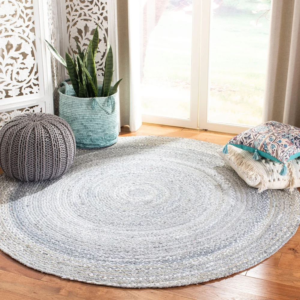 Overstock Com Online Shopping Bedding Furniture Electronics Jewelry Clothing More In 2020 Braided Rag Rugs Floor Rugs Cotton Area Rug