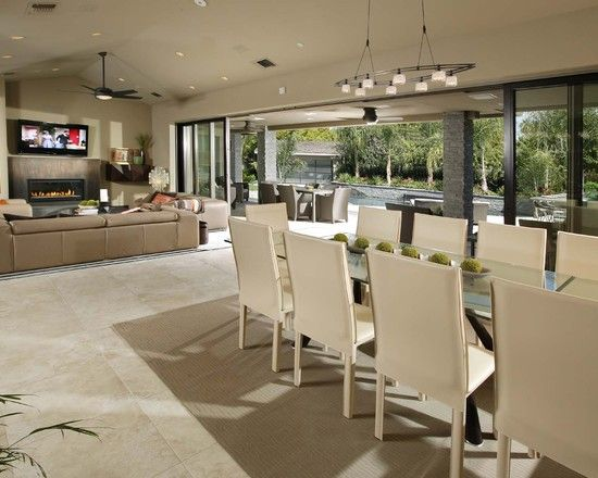 Pin By Www Tapja Com On Any Seat Is Fine Living Room And Kitchen Design Dining Design Contemporary Dining Room
