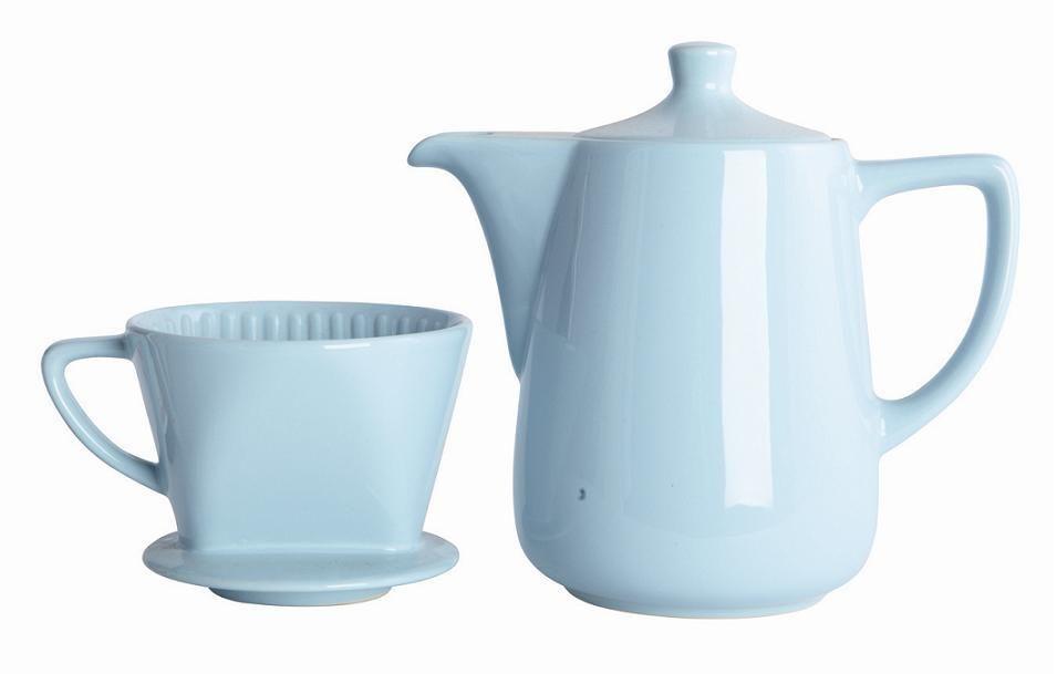 Kahvikannu + suodatin Blue / Peroba