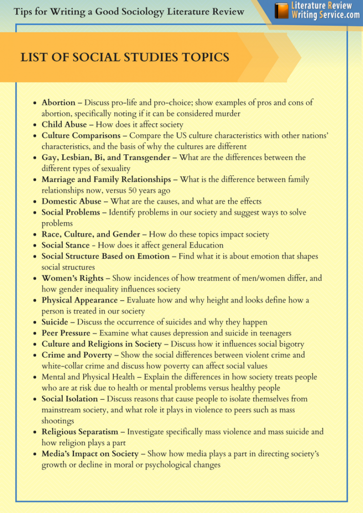 Sociology Literature Review Topics Sociology Sociology Books Sociology Topics
