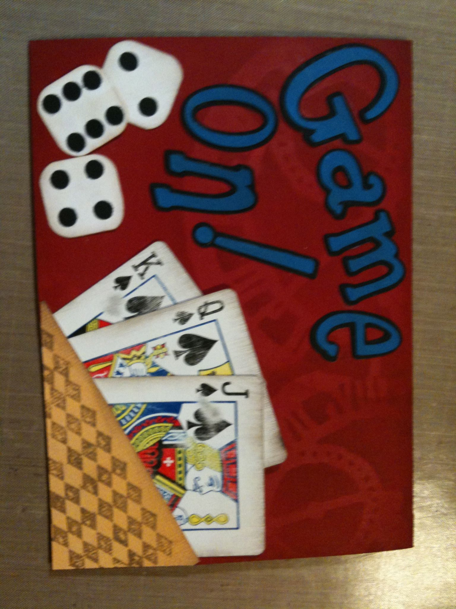 Game night invitation hand crafted goodies pinterest game game night invitation stopboris Images