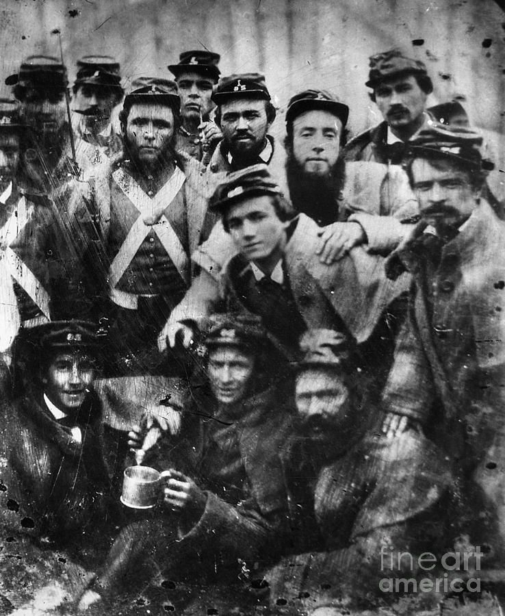 Confederate Soldiers 1861 Photograph Confederate Soldiers 1861 Fine Art Print Civil War Civil War Photos War Civilization
