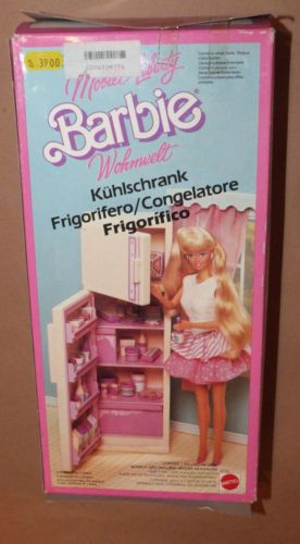 1987 Living Pretty Barbie Furniture (Foreign) European - Freezer ...