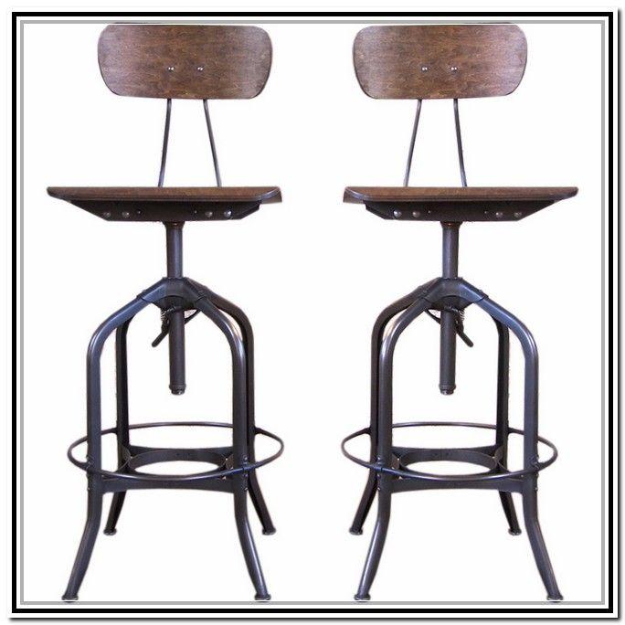 Vintage Industrial Stools For Sale Barstools Wood Bar