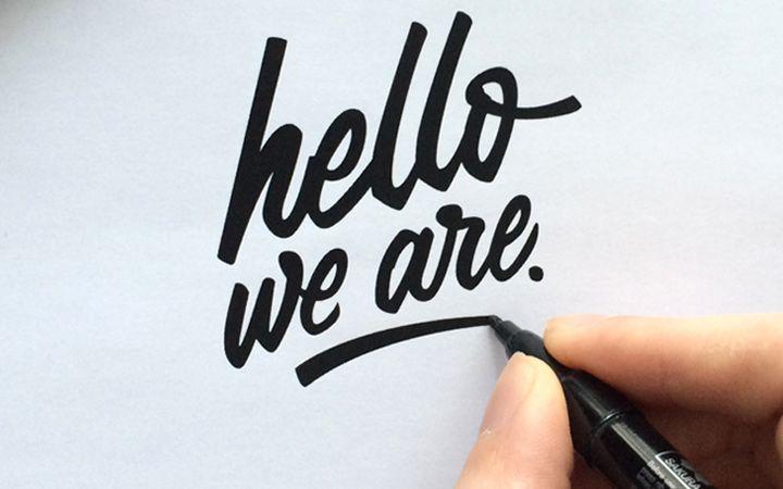 Resultado de imagem para typography handwriting