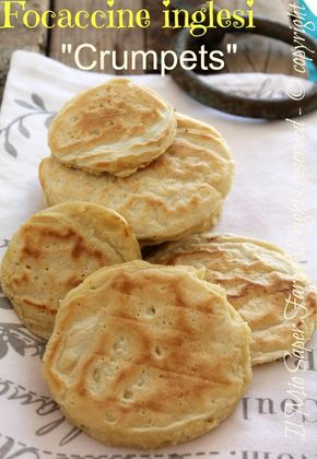 Photo of English muffins cooked in a pan crumpets recipe