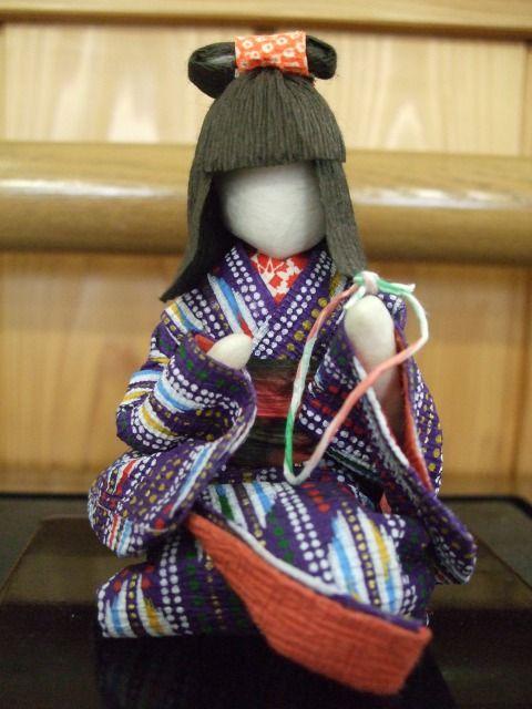 Japanese Washi Paper Dolljapanese Paper Craft Dolls