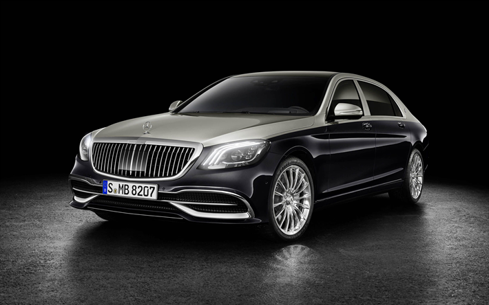 Download Wallpapers Mercedes Maybach S Class 2019 Cars Luxury Cars Headlights Maybach Mercedes Besthqwallpapers Com Carros De Luxo Mercedes Benz Maybach Mercedes Classe S