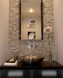 Accent Wall Powder Room