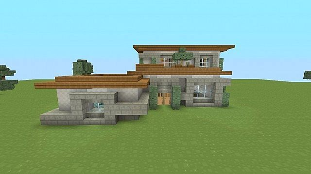 Awesome minecraft houses modern house project also rh pinterest