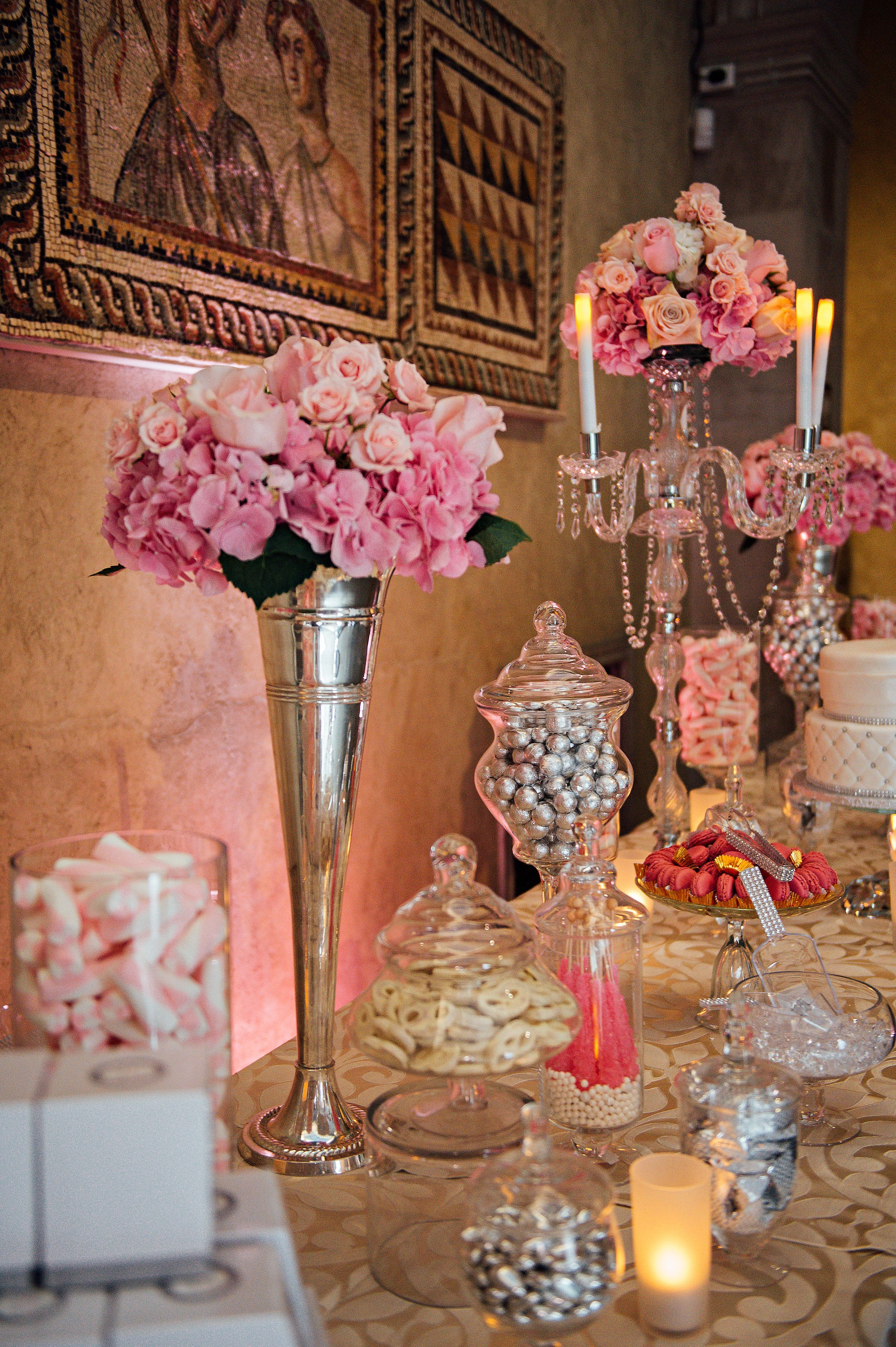 Wedding Dessert Table At Worcester Art Museum Photo By Erica Ferrone Photography Catering