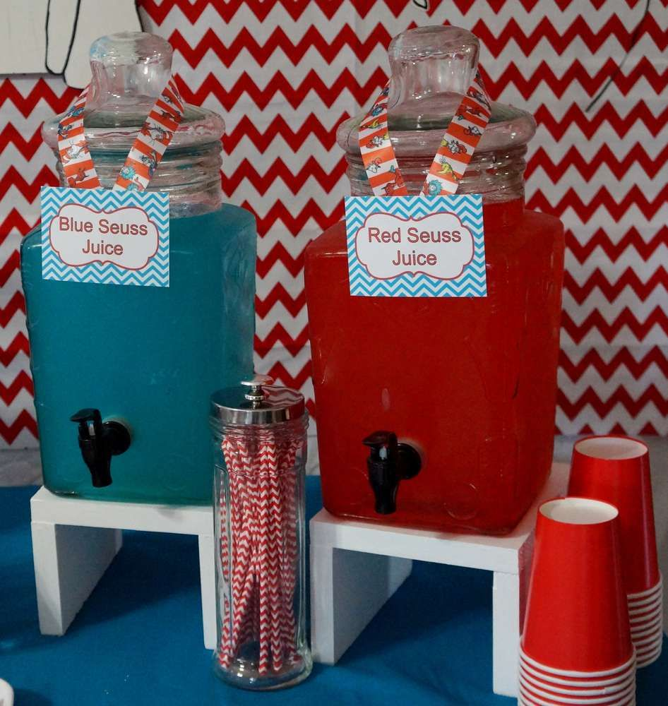 Cat In The Hat Birthday Party Ideas In 2019