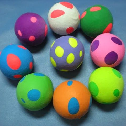Manualidades globos y harina buscar con google - Manualidades con globos ...