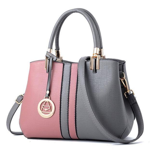 a9e2f007e7 YINGPEI Patchwork Designer Handbags High Quality Women Bag Fashion  LadiesBig PU Leather Lady Shoulder Bag Women s